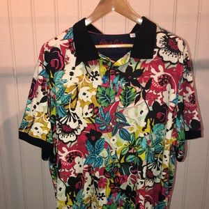 Polo style Robert Graham short sleeve shirt